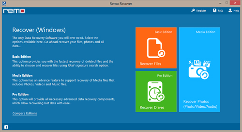 Data Recovery after Partition Table Corruption on Windows 7 - Select Recover Partitions/Drives