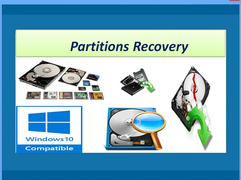 Superior software for partitions recovery